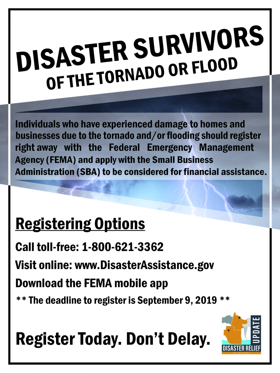 Disaster Recovery | United Way of Central Missouri