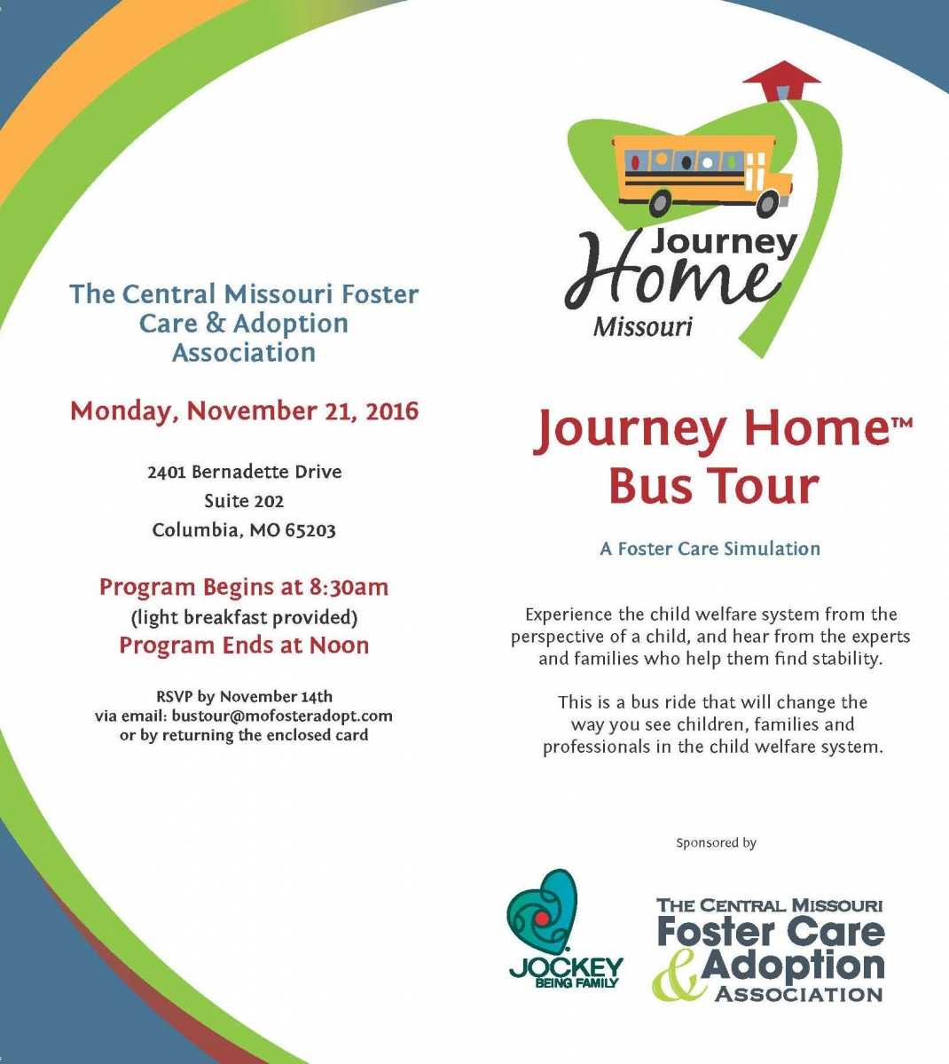 Central MO Foster Care & Adoption Assn  Journey Home